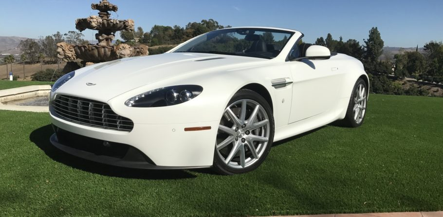 Aston Martin Vantage Convertible Lease For MoTx Exotic - Lease aston martin vantage